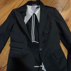 Express Black Blazer Jacket